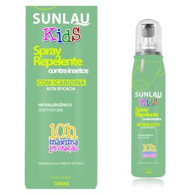 Repelente Sunlau com Icaridina Kids Spray 100ml