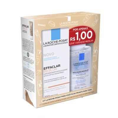 Kit La Roche-Posay Effaclar BB Blur 30ml + Solução Micelar 100ml