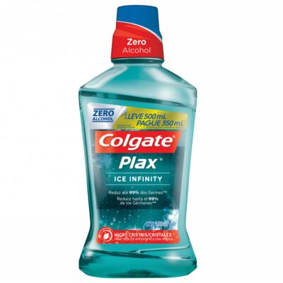 Imagem 1 do produto Antisséptico Bucal Colgate Plax Ice Infinit 500ml