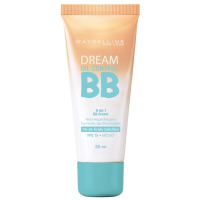 Imagem 1 do produto Base Maybelline Bb Cream Dream Oil Control Fps15 Médio 30ml