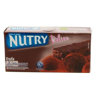 Imagem 1 do produto Barra de Cereal Nutry Delice Trufa 20g 3 Unidades