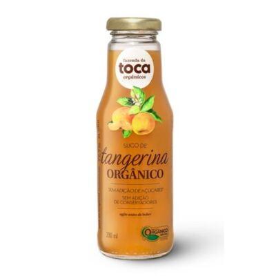 Suco de Tangerina Orgânico Integral Fazenda da Toca 280ml