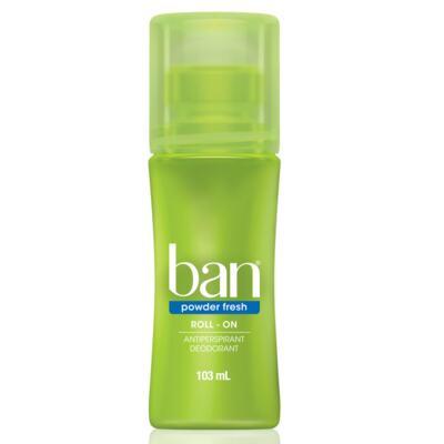 Imagem 1 do produto Desodorante Ban Roll On Powder Fresh 103ml