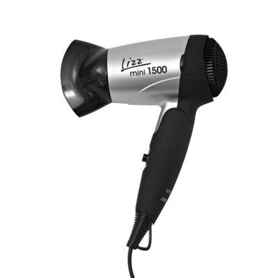 Imagem 2 do produto Kit Secador Viagem Lizz Mini 1500 Bivolt + Kit Flex Mundial Cuidado para Mãos 6 Peças
