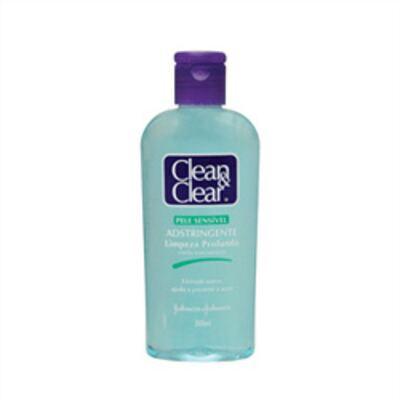 Imagem 1 do produto Adstringente Facial Johnson's Clean & Clear Pele Sensível 200ml
