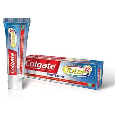 Imagem 2 do produto Creme Dental Colgate Gel Total 12 Whitening 90g