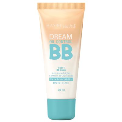 BB Cream Maybelline Dream Oil Control Claro FPS 15 30ml