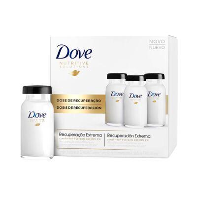 Imagem 1 do produto Dove Ampola de Tratamento Recuperação Extrema 12ml 3 Unidades