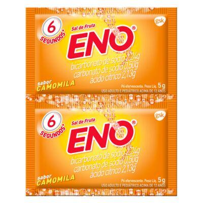 Sal de Fruta Eno Camomila 5g 2 Envelopes