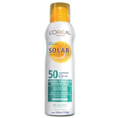 Protetor Solar L'Oréal Expertise Spray FPS 50 200ml
