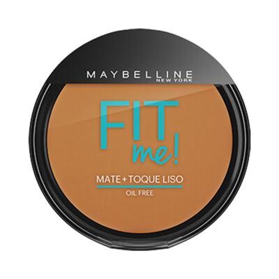Imagem 1 do produto Maybelline Pó Compacto Mate + Toque Liso Fit Me! Cor 220 Médio Pra Mim