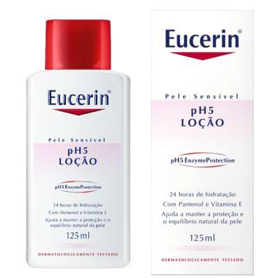 Imagem 1 do produto Loção Hidratante Eucerin pH5 Skin Protection 125ml