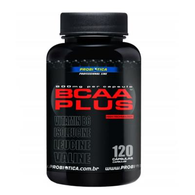 BCAA Plus 800g Probiótica 120 Cápsulas