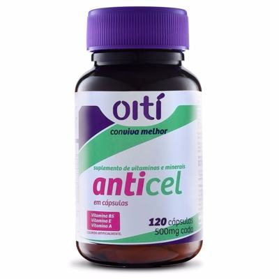 Suplemento Oiti Anticel Vitaminas Cápsulas Mole
