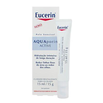 Creme Hidratante Eucerin Aquaporin Active Contorno dos Olhos 15ml