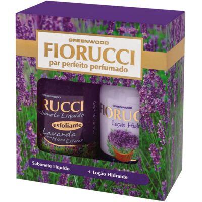 Imagem 1 do produto Kit Fiorucci Par Perfeito Lavanda Sabonete Líquido 500ml + Loção Hidratante 500ml