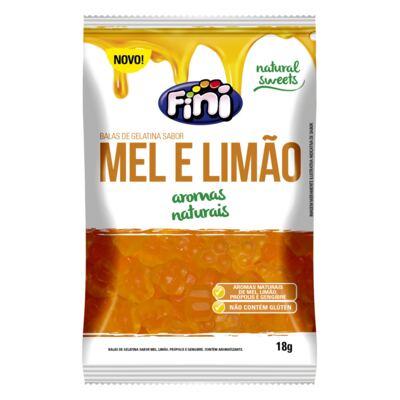 Brinde Balas de Gelatina Fini Mel e Limão