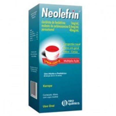 Xarope Neolefrin Neo Química - 60ml
