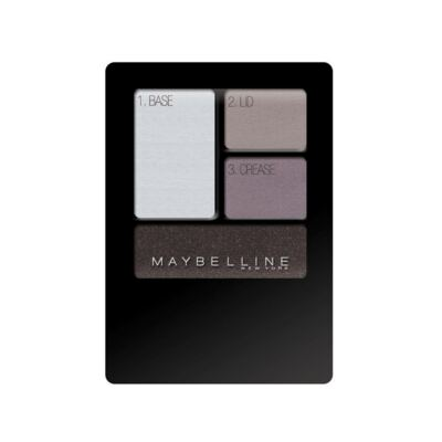 Quarteto de Sombras Maybelline New Expertwear Eyeshadow Charcoal Smokes 4,8g