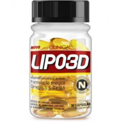 Imagem 1 do produto Lipo 3D 30 Cápsulas