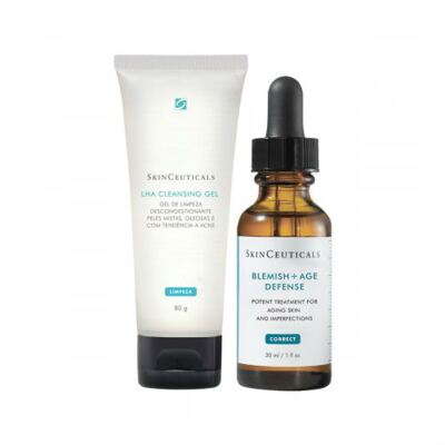Kit Tratamento Skinceuticals Blemish Age Defense + Lha Cleasing