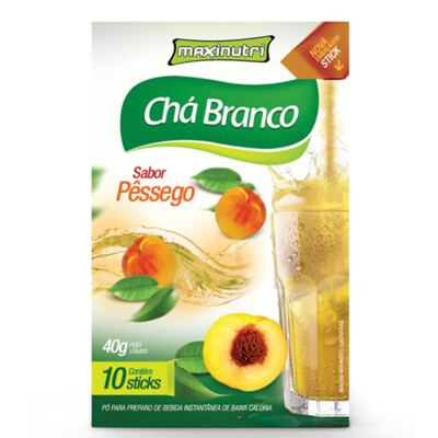 Imagem 1 do produto CHÁ BRANCO 10 STICKS TISANA - MAXINUTRI