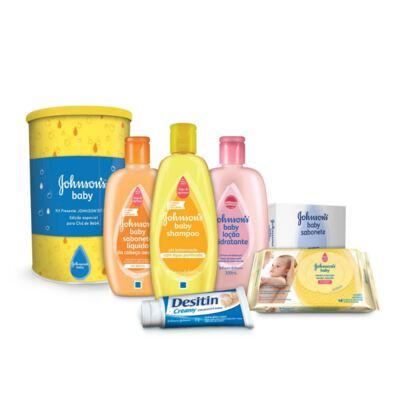 Imagem 1 do produto Kit Presente Johnson's Baby Edição Especial Chá de Bebê