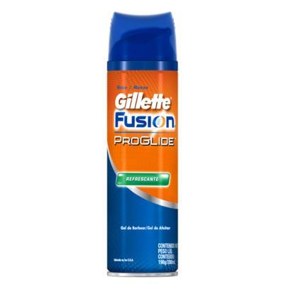 Imagem 1 do produto Fusion Proglide Refrescante Gillette - Gel de Barbear - 198g