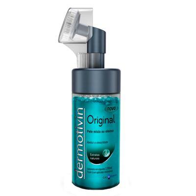Dermotivin Original Espuma de Limpeza com Escova - Limpeza Facial - 130ml