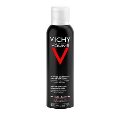 Mousse à Raser Vichy - Mousse de Barbear para Peles Sensíveis - 200ml