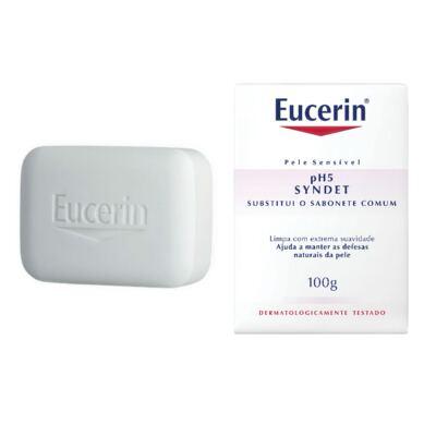 Imagem 1 do produto Sabonete em Barra Eucerin pH5 Skin Protection Syndet 100g