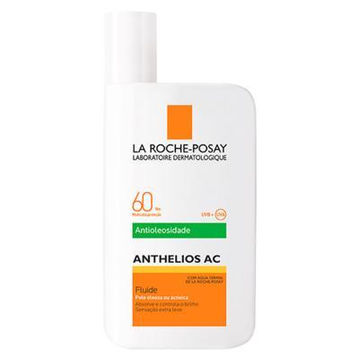 Imagem 1 do produto Anthelios Ac Antioleosidade Fluide FPS60 La Roche Posay - Protetor Solar Facial - 50ml