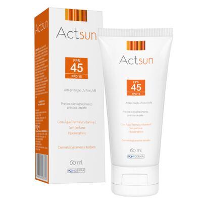 Protetor Solar Facial Fps45 Actsun - Protetor Solar - 60ml