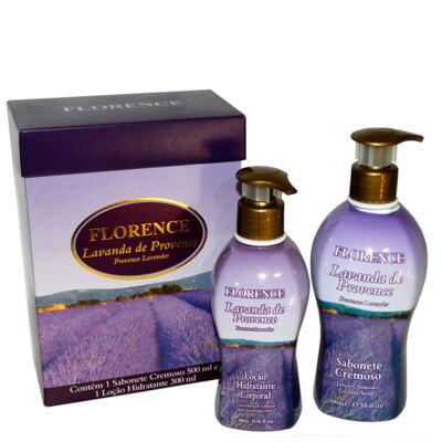 Imagem 4 do produto Lavanda de Provence Florence - Kit Sabonete Cremoso 500ml + Loção Corporal 300ml - Kit