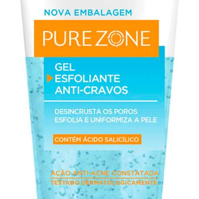 Imagem 3 do produto Esfoliante Facial L'Oréal Paris Gel Esfoliante Anti-Cravos Pure Zone Dermo Expertise - 100g