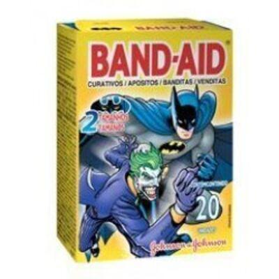 Imagem 1 do produto Curativo Band-Aid Desenhos Johnson´s 20 Unidades