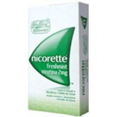 Nicorette Freshmint 2mg Johnson´s 30 Tabletes