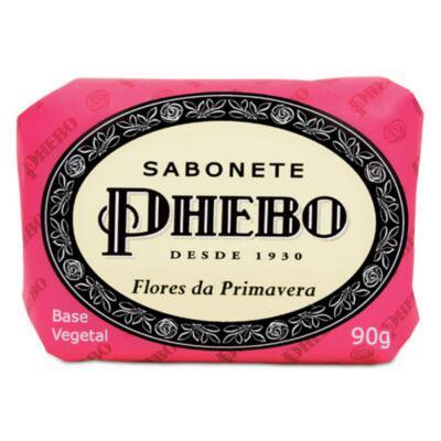 Imagem 1 do produto Phebo Sabonete Flores da Primavera 90g
