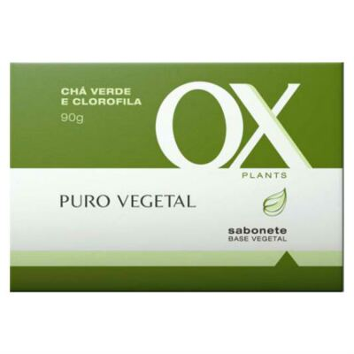 Imagem 2 do produto OX Plants Sabonete Chá Verde Camomila 97g