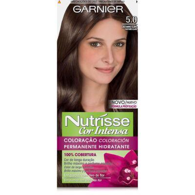 Imagem 1 do produto Nutrisse Tintura para Cabelos Cor Intensa Castanho Claro 5.0