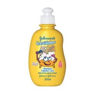Shampoo Johnson´s Crescidinhos Lisos 200ml