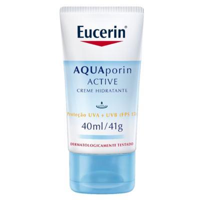 Eucerin Creme Hidratante Facial Aquaporin Active FPS15 40ml