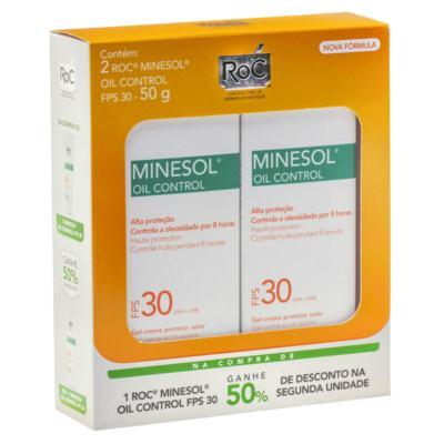 Roc Minesol Kit Protetor Solar Oil Control FPS30 50g 2 Unidades
