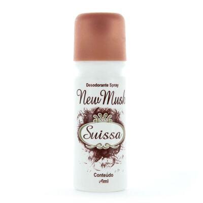 New Musk Desodorante Spray Suissa 90ml