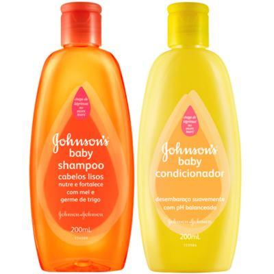Kit Shampoo + Condicionador Johnson´s 200ml