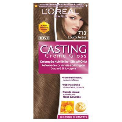 Imagem 1 do produto Loreal Coloração Casting Creme Gloss 713 Louro Avelã
