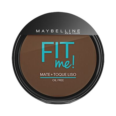 Imagem 1 do produto Maybelline Pó Compacto Mate + Toque Liso Fit Me! Cor 340 Escuro Autêntico