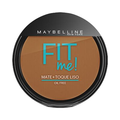 Maybelline Pó Compacto Mate + Toque Liso Fit Me! Cor 260 Médio Particular