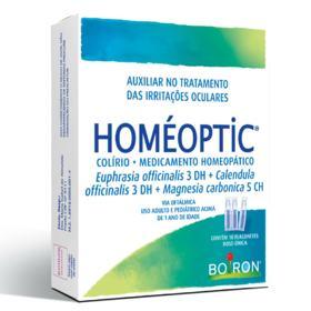 Homéoptic Solução Oftálmica - 10 flaconetes de 0,4ml
