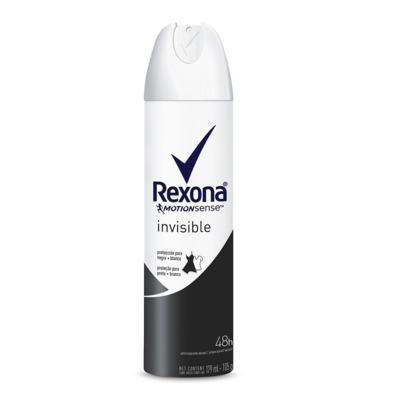 Desodorante Aerosol Rexona Feminino Invisible 175ml